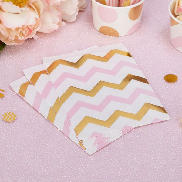 Pattern Works Pink Chevron Sweet Bags (25)
